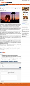 (2) World parliamentarians meet on Tibet in New Delhi put off
