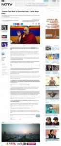 Tibetans Dont Want To Discomfort India-Cancel Mega Event