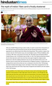 The myth of India's Tibet Card (Excerpt)
