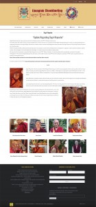Lhungtok Choekhorling DR Announcement